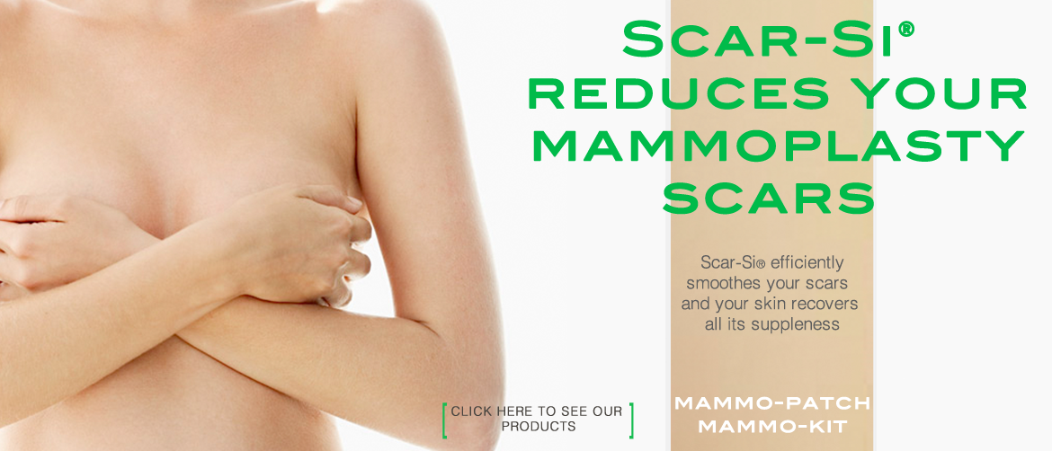 Scar-Si reduces your mammoplasty scars