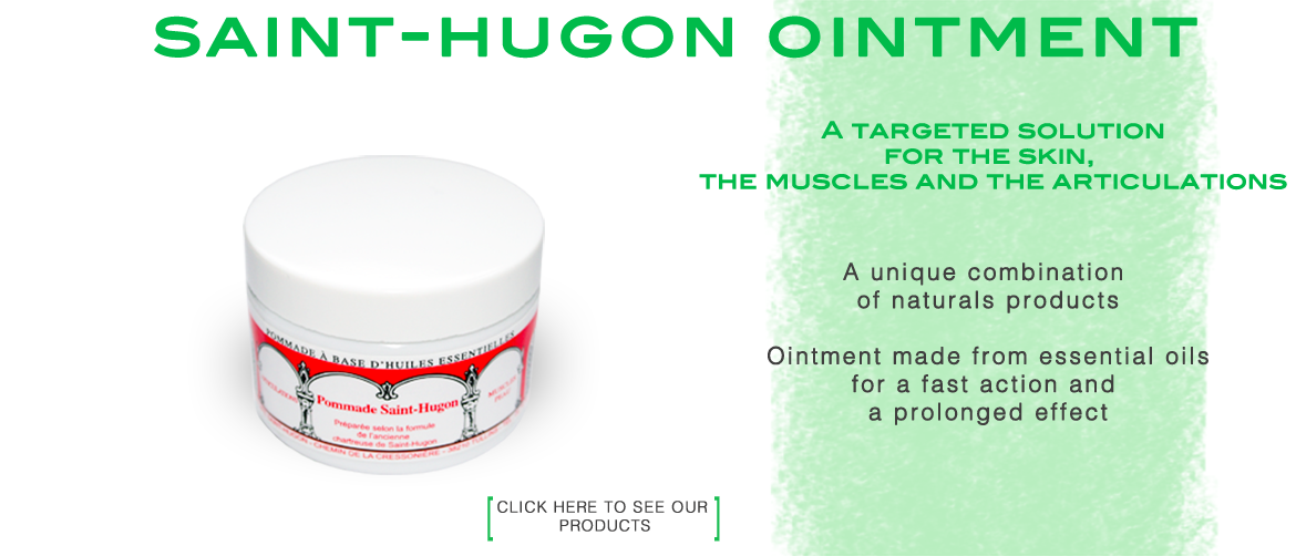 Saint-Hugon ointment for the skin, the muscles and the articulations